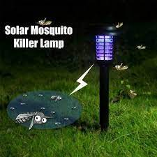 2 solar powered outdoor mosquito fly