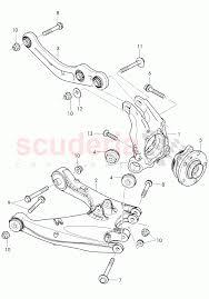 Track control arm wheel bearing housing