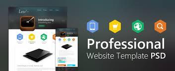 Professional Website Template Design Psd Css Author