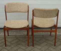 teak outdoor dining table beautiful o d mobler set dining chairs in teak and wool erik buch