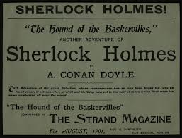 five star reviews the well sherlockian houn broadsheet advertising story in strand