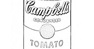 Small Picture 13 Images of Campbells Soup Coloring Label Page Andy Warhol
