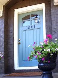 colored front doorsFront Door Colors  Home Inspiration Ideas