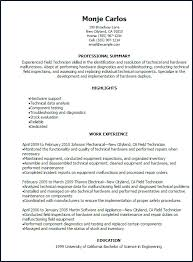 Service Technician Resume Best Of Premise Technician Job Description