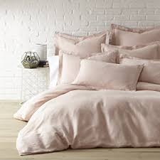 blush sheets queen amazon com washed linen blush king duvet cover home kitchen