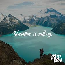 Adventure Is Calling Meerweh Visual Statements Sprüche