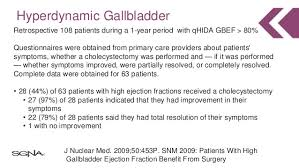 Gallbladder Ejection Fraction Chart Fun Functional Gallbladder Disorders Update On Hypo And