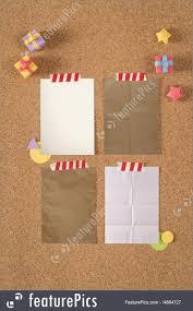 Notice Board Design Templates Paper Texture Kraft Template Cork Notice Board