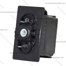 on off on backlit rocker switch blue led new wire marine carling double light replacement rocker switch