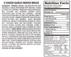 5 cheese garlic french bread