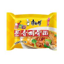 kangshifu instant noodle shallot ribs