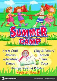 Summer Camp Pamplets Summer Camp Pamphlet Design Camp Summer Activities Camping Summer