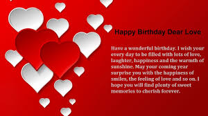 Birthday Love Quotes Simple 48 Greatest Image Happy Birthday Pictures With Love Quotes All