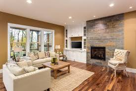 Transitional living rooms 15 relaxed transitional living Unwind Play With Different Brown Blends For Your Living Room From Your Walls To Your Floors Remodelaholic Best Living Room Colors For 2019