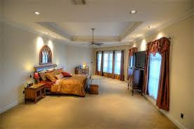 tray ceiling lighting ideas. large bedroom using recessed tray ceiling lighting ideas