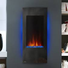 azure wall mount electric fireplace insert