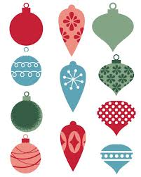 Christmas Ornaments Printables Shared By Lea Scalsys