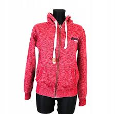 Details About W Superdry Womens Zip Up Hoodie Int M