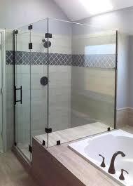 seamless glass shower doors nice shower enclosure doors glass shower enclosures and doors frameless glass shower