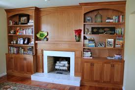 Pictures Of Built In Bookcases Hand Crafted Built In Bookcases Fireplace Surround By