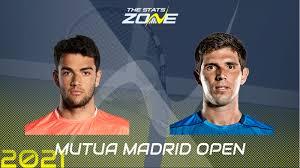 2021 Madrid Open Round of 16 – Matteo Berrettini vs Federico Delbonis  Preview & Prediction - The Stats Zone