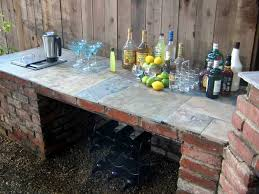 Diy outdoor bar Modern Diyoutdoorbarstation23 Woohome 26 Creative And Lowbudget Diy Outdoor Bar Ideas Amazing Diy