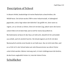 german description of my school gcse modern foreign languages document image preview