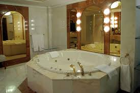 Bathroom With Hot Tub Interior Best Decorating Design