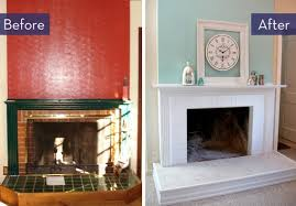 Inspirational Fireplace Renovation Before And After 85 For Your Decoration  Ideas with Fireplace Renovation Before And After