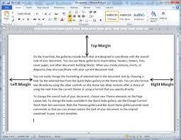 adjust page margins in word