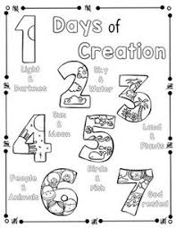 creation coloring sheet creation coloring pages for preschoolers creation genesis 1 1 18