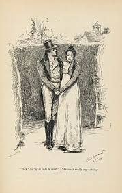 emma novel 1898 illustration of mr knightley and emma woodhouse volume iii chapter xiii