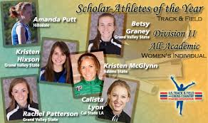 DII Women's Track & Field All-Academic and Scholar Athletes Announced :::  USTFCCCA