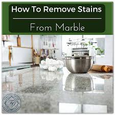 best for cleaning marble countertops