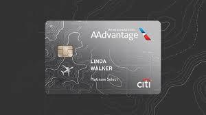 airline miles credit card citi aadvane platinum select citi