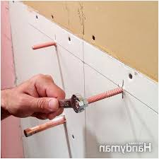 How To Install A Wall Mount Bathroom Sink  Installing  How Install Wall Mount Sink52