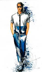 сообщество иллюстраторов иллюстрация эскиз модели одежды