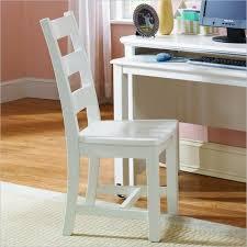 white wooden desk chair 1004