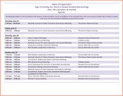 Microsoft Office Agenda Template 6 Microsoft Agenda Template Bookletemplate Org