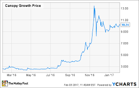 Canopy Stock Chart This Marijuana Stock Is Already Worth 1 Billion Is It A
