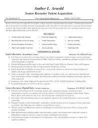 Nurse Recruiter Resume it recruiter resume tigertweetme 46
