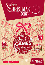 Christmas Lights St Albans 2018 Christmas In St Albans 2018 By Claire Wainwright Issuu