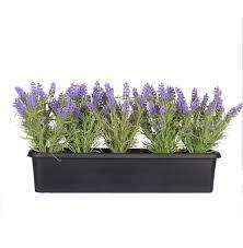 Artificial Window Artificial Lavender Window Box Blooming Artificial