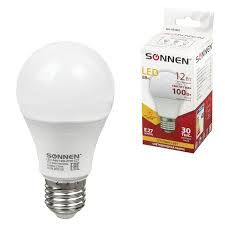 <b>Лампа светодиодная SONNEN</b>, 12 (100) Вт, цоколь <b>Е27</b> – купить ...