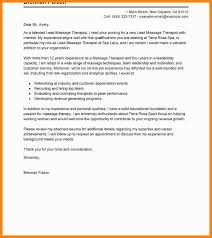 11 12 Massage Therapy Cover Letter Samples Catonavenue Com