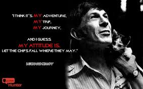 Leonard Nimoy Quotes Stunning 48 Inspiring Quotes By Leonard Nimoy Quotes Hunter Quotes