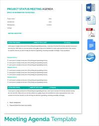Project Status Meeting Minutes Template Actions Summary Action Items ...