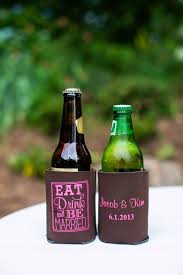 3565 best wedding koozies inspiration images on pinterest Wedding Wine Koozies koozie wedding favors this would be his idea of a favor wedding wine koozies