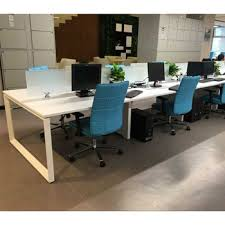 office furniture legs. Office Furniture Metal Triangle Tube Table Legs For 4 Person Workstation Office S