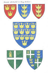 versions of the arms of king arthur
